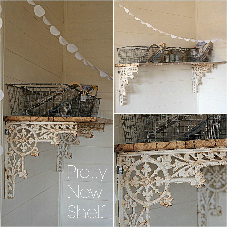 Diy shelving like the rustic theme decorative shelf