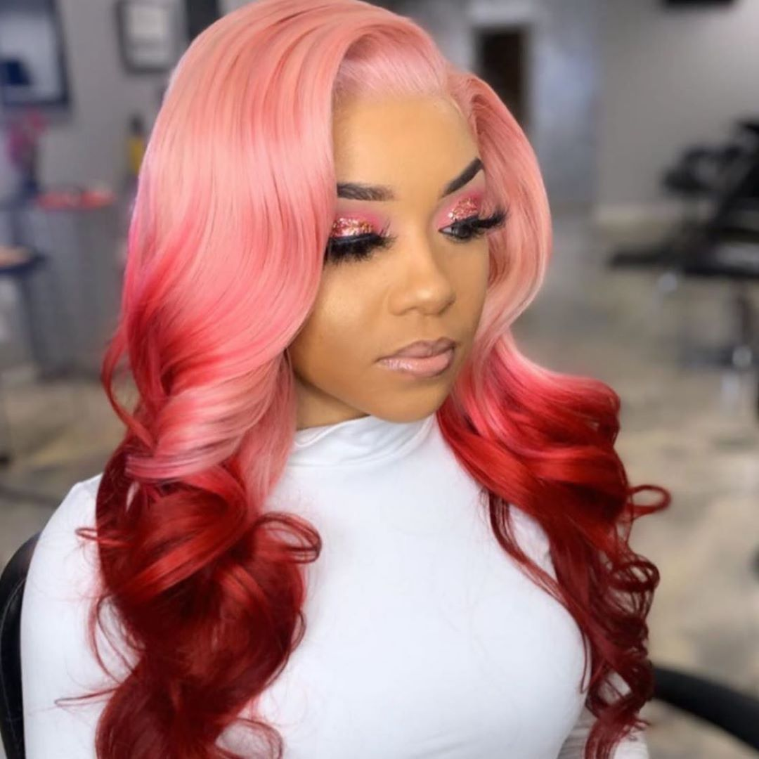 Arabella Human Hair Wigs #613 blonde Body Wave 13x4 Inch Lace Frontal Wig