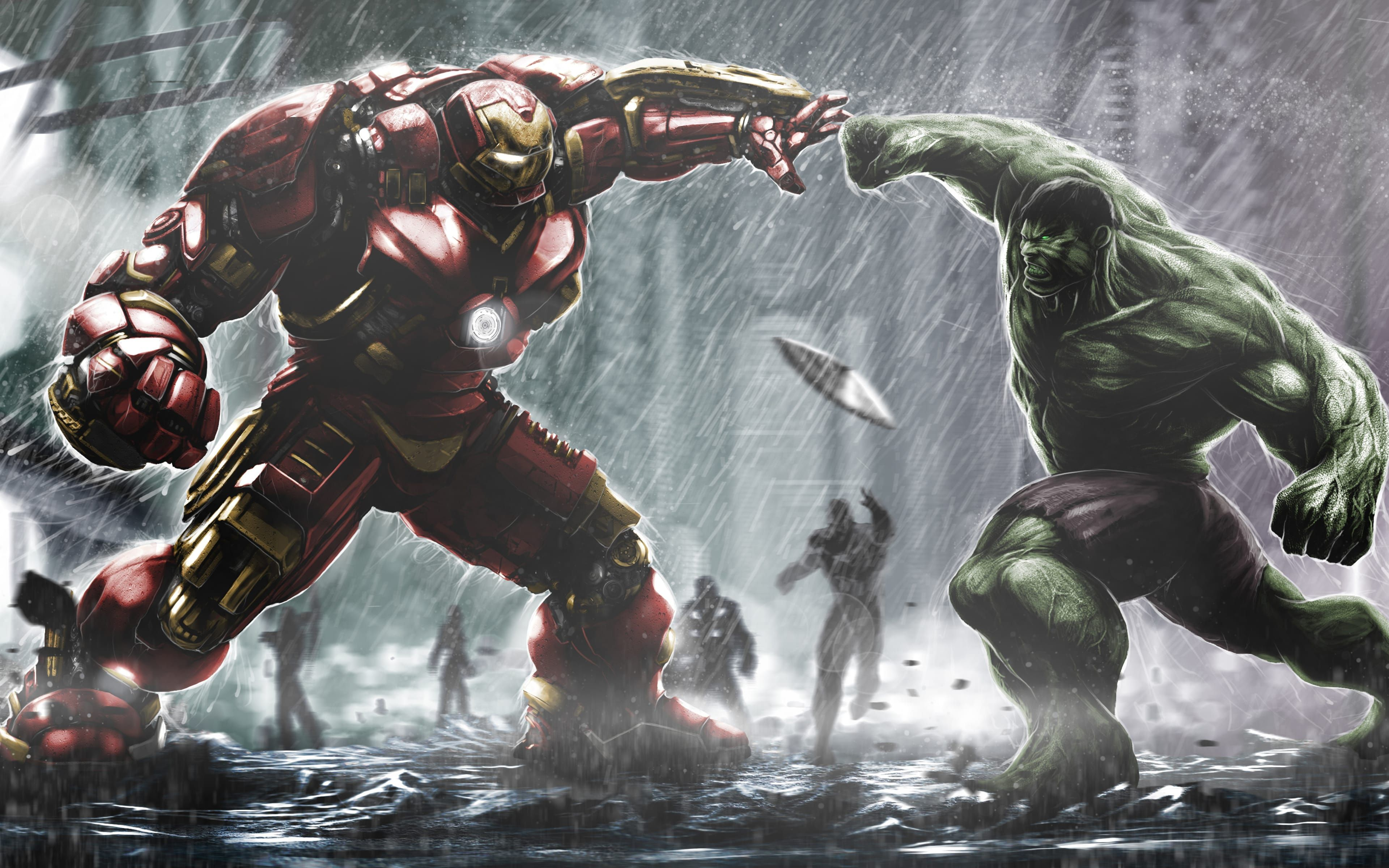 Marvel Superhero Hulkbuster Hulk Is An HD Desktop Wallpaper Posted In Our Free Image Collection Of Superheroes Wallpapers