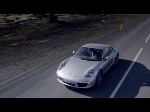 Porsche 911 Carrera Coupé-911 Carrera S Coupé (991) driving video with engine sound