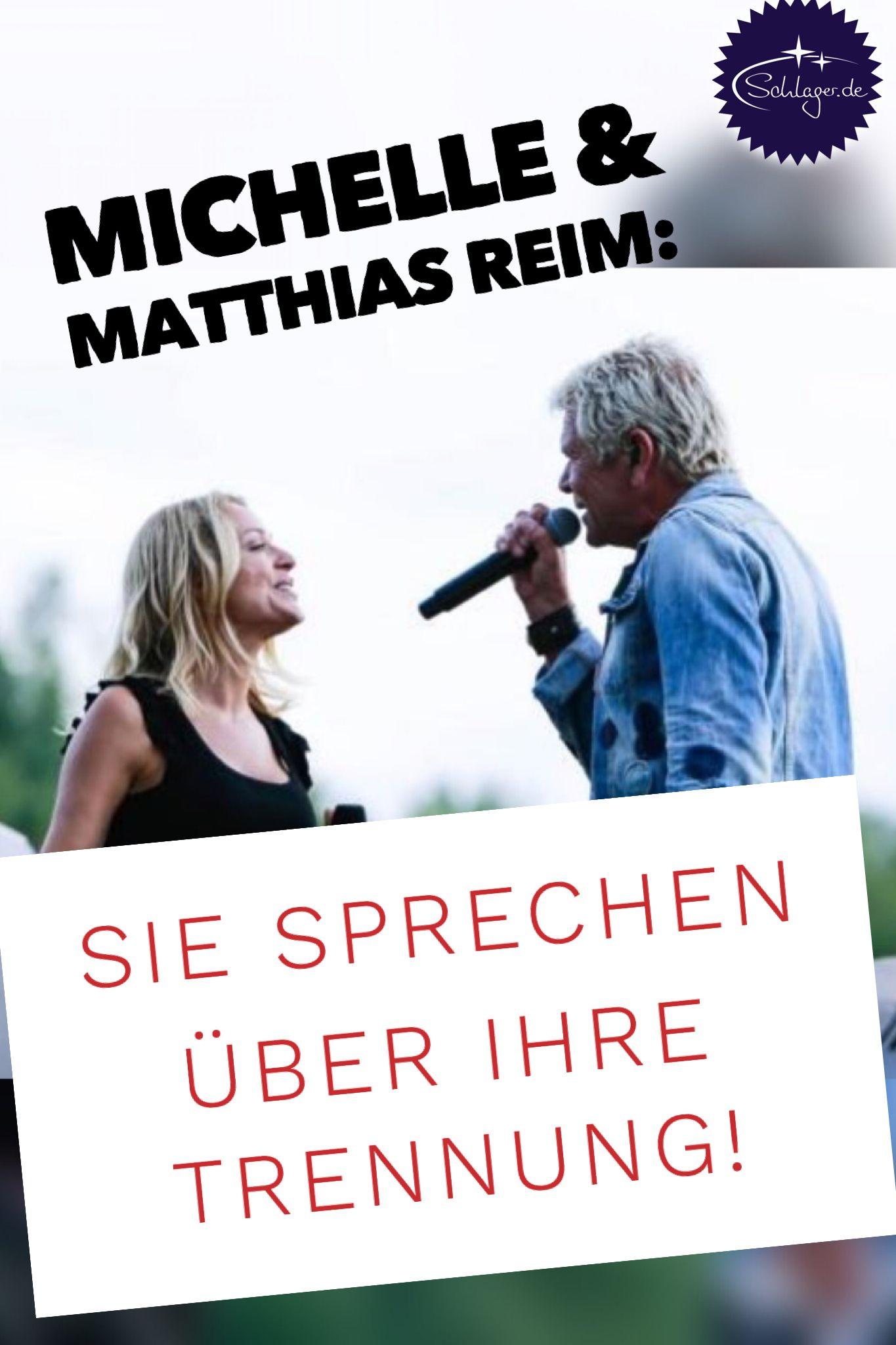 Michelle Und Matthias Reim Sprechen Uber Ihre Trennung Top