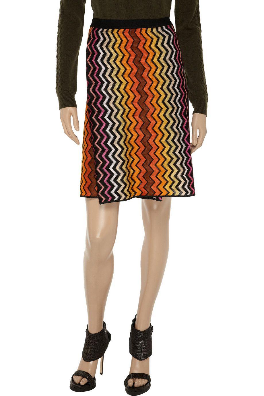 Miglio crochet-knit skirt