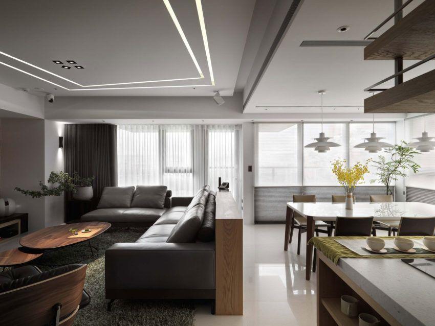 ... Ryan Lai Architects Entwerfen Sie Eine Wohnung In Taipei City Mit   Hi  Tech Loft Wohnung ...