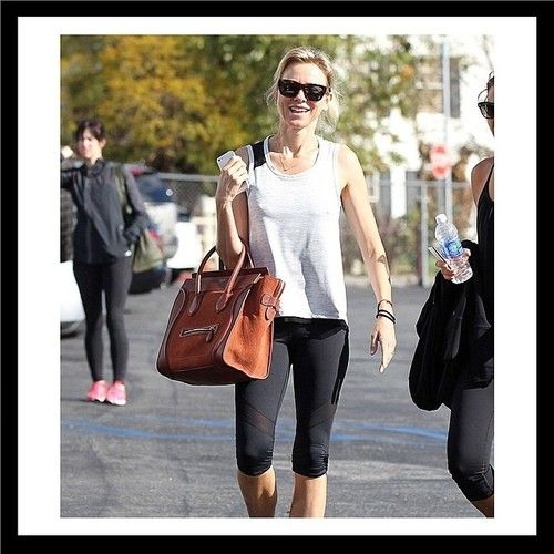HELLO! Naomi Watts spotted rocking her ALALA toughie tank & take sides knee tights in LA. #pinchus #fashion #fitness #activewear #alalalife (at www.AlalaStyle.com)