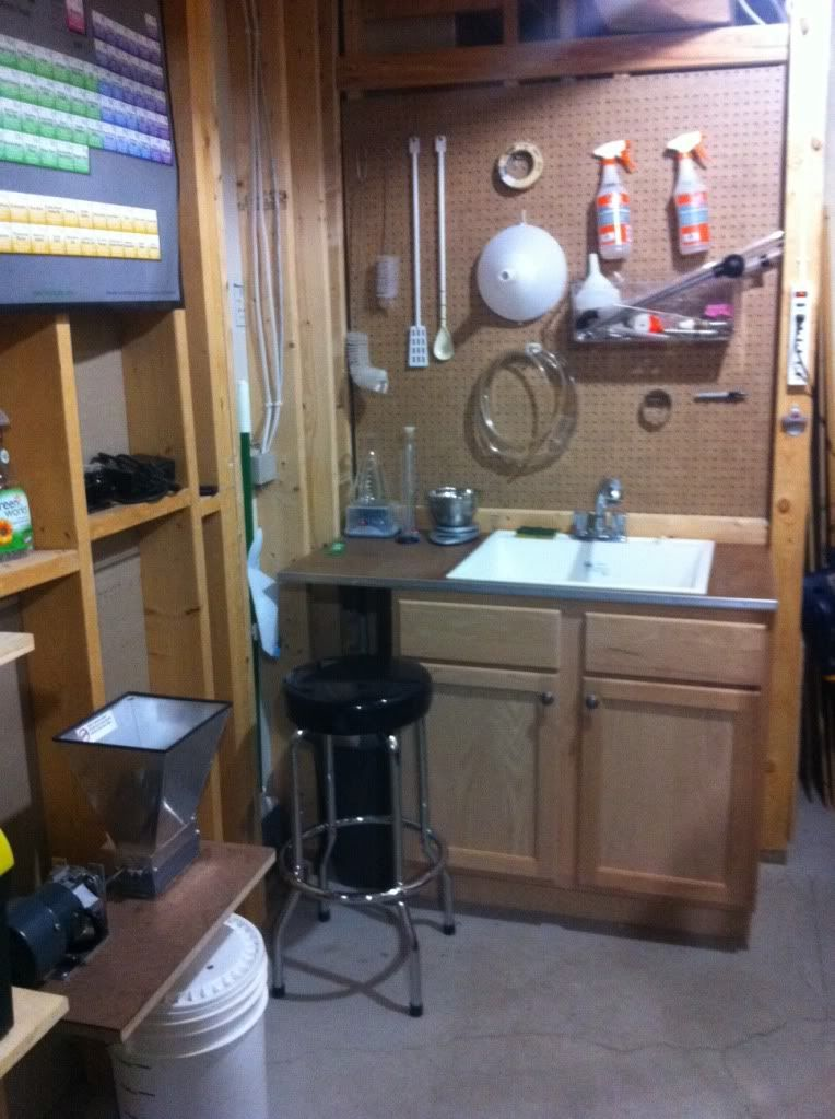 Show Me Pics Of Your Dedicated Brewing Rooms!   Home Brew Forums   Home  Decor