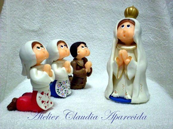 Nossa Senhora Aparecida Nossa Senhora De Fatima: Nossa Senhora Com Características Infantis Modelada Em