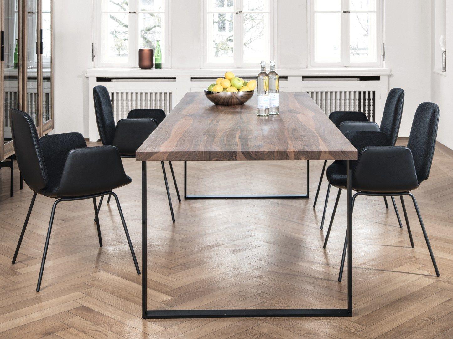 Tavolo da pranzo rettangolare in legno S700 by Janua design Claus P ...