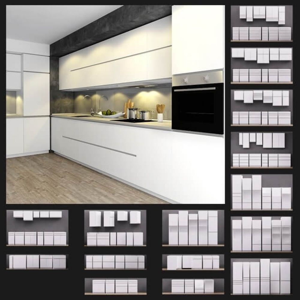 Ikea Kitchen 3d Model For Download Cgsouq Com Kitchen 3d Model Ikea Kitchen Kitchen Design