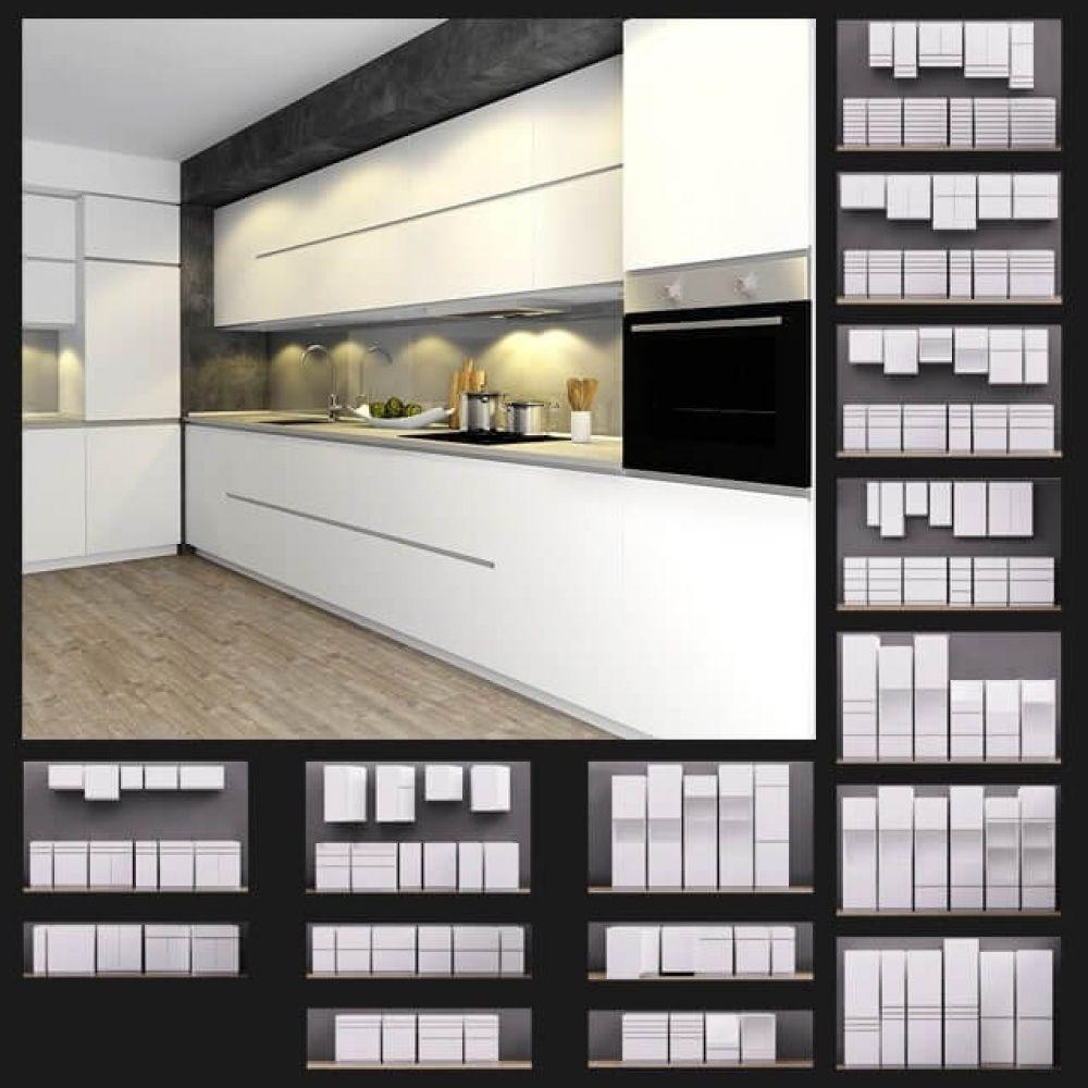 Ikea Kitchen 3d Model For Download Cgsouq Com Kitchen 3d Model