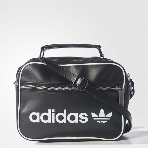 a371060e8b2b adidas Mini Vintage Air liner Bag Unisex Accessory Travel Black Handbag  BQ1488  adidas  DuffleGymBag