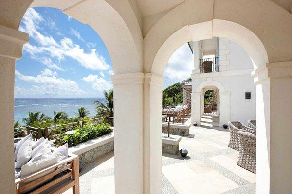 Serene holiday villa on the caribbean coast sunrise house