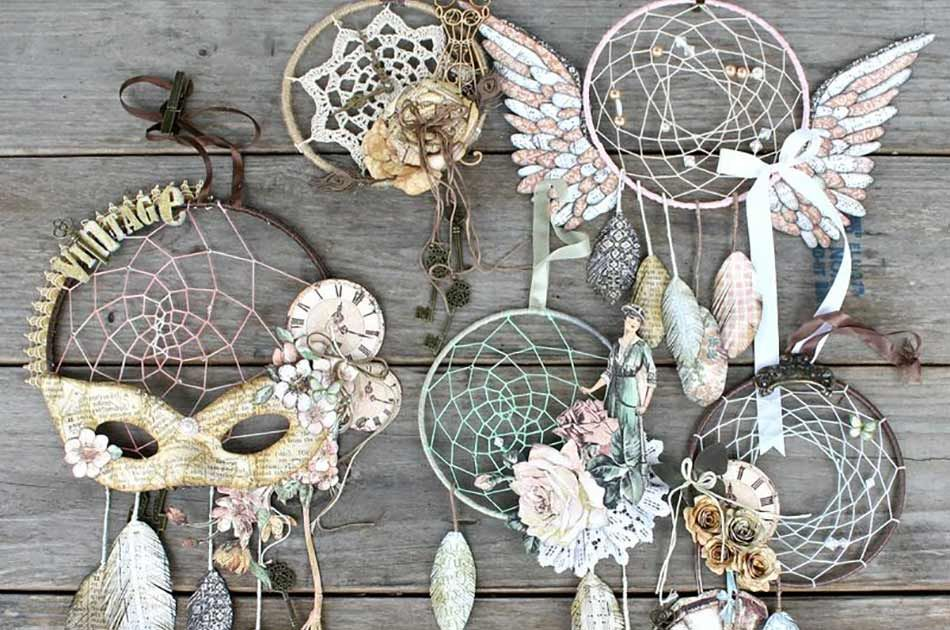 how to create a dreamcatcher