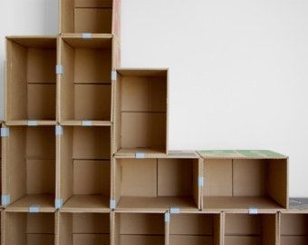 carton box and metal clips carton pinterest karton pappe und box. Black Bedroom Furniture Sets. Home Design Ideas