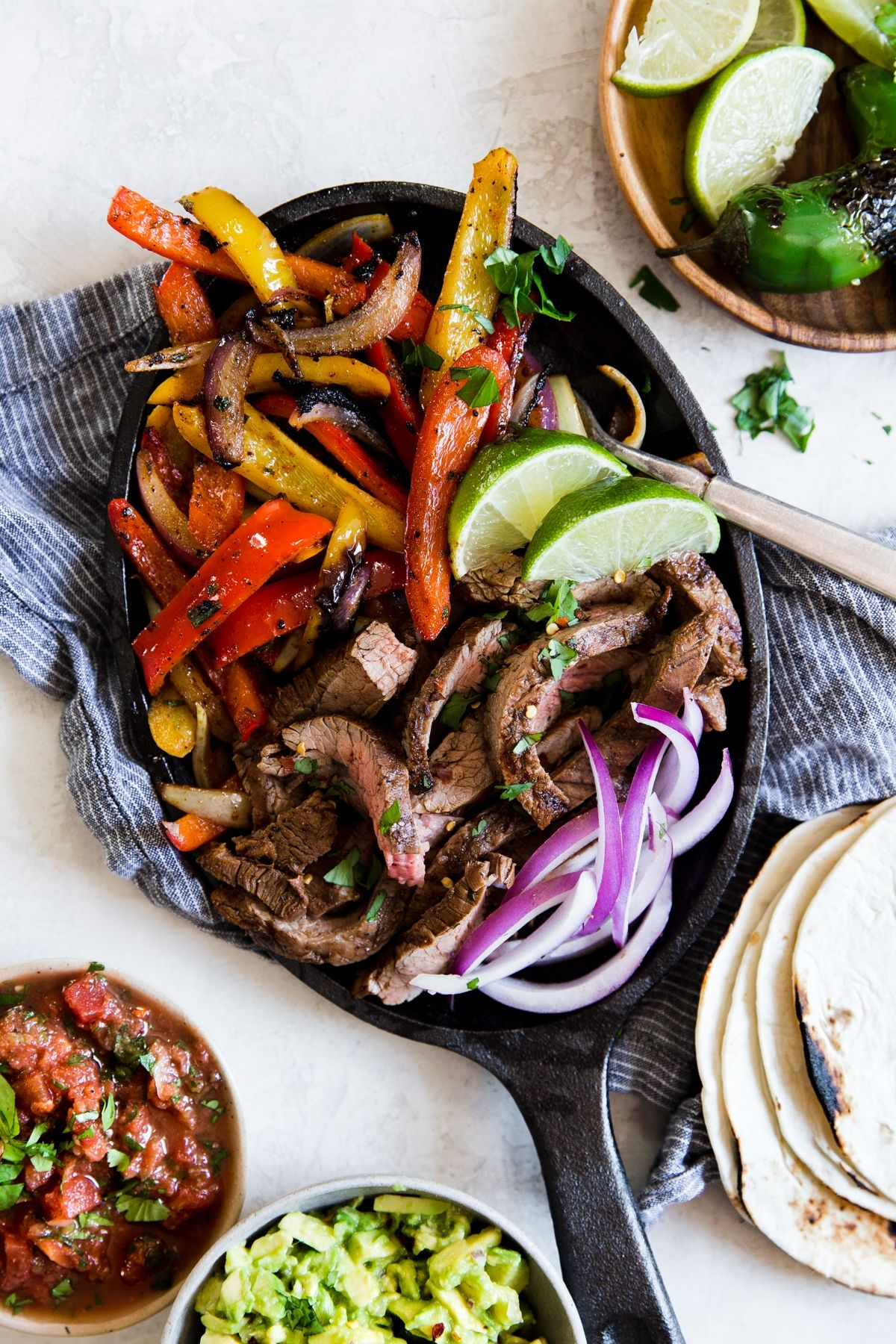 Easy Steak Fajitas | The Modern Proper