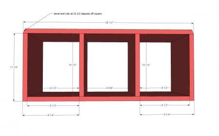 Barn Dollhouse - Small stapelbaar