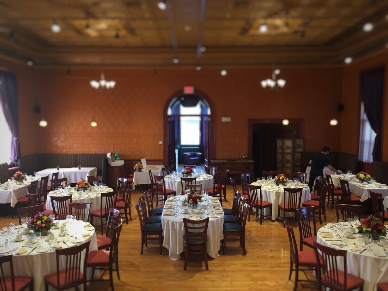 Blue Heron Restaurant Lincoln Hall Sunderland Ma Western Wedding Venue