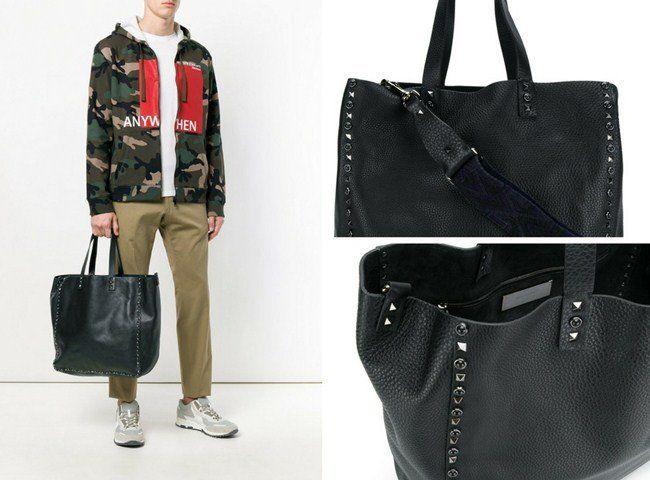 e174b72f43 Top 16 Black Minimalist Designer Leather Tote Bags for Men in 2018