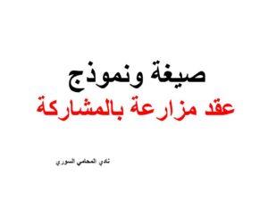 صيغة ونموذج عقد المزارعة في القانون السوري نادي المحامي السوري Arabic Calligraphy Calligraphy