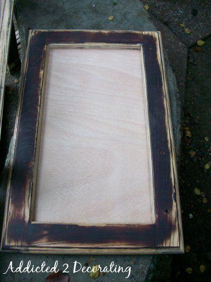 Turn Raised Panel Cabinet Doors Into Recessed Panel Doors Shaker