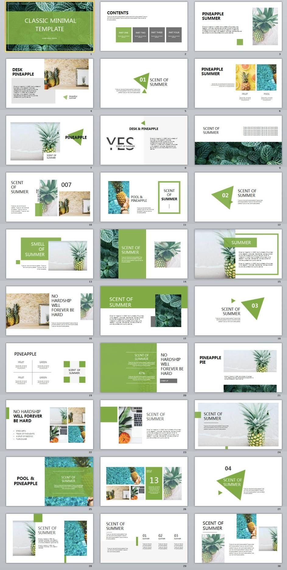 31+ best green fruit design powerpoint templates   powerpoint, Modern powerpoint