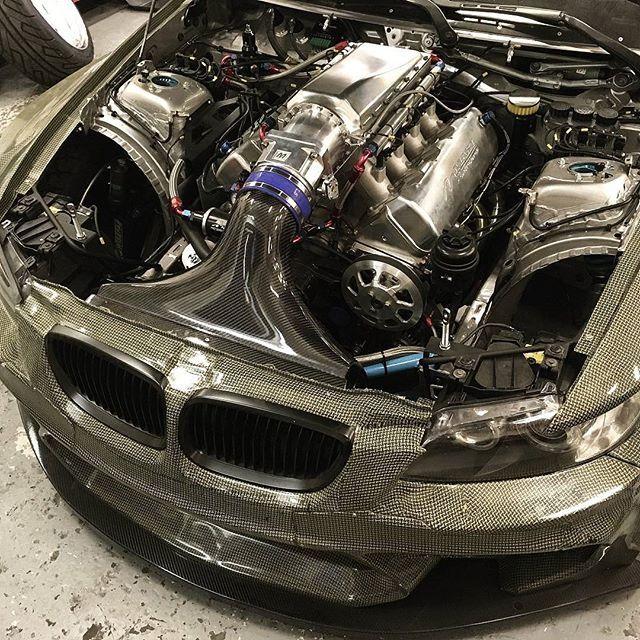 From Undr8d Empire Evil Carbon Composite E92 Drift Car With A