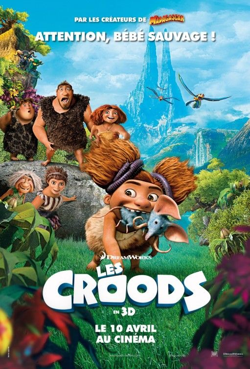 The Croods Movie Poster Animated Movie Posters Full Movies Online Free Full Movies Online