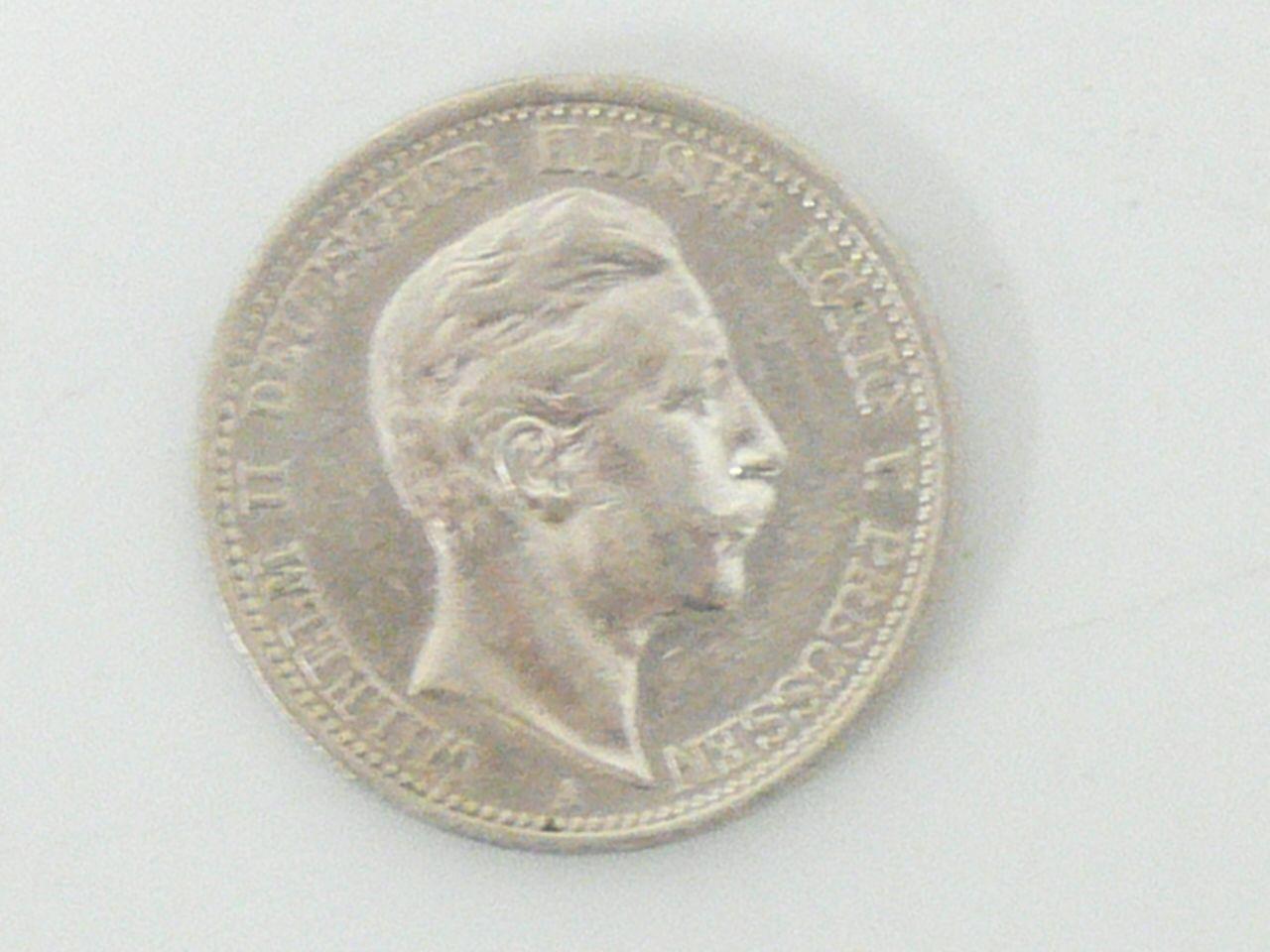 Silver Coin Germany Prussia 22 00 Coin Preussen Sammlerstucke