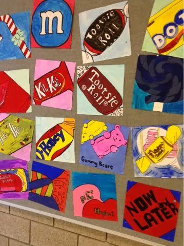 Candy Painting Pop Art Fun