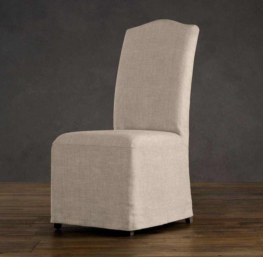 Hudson Camelback Slipcovered Side Chair Decorating Ideas