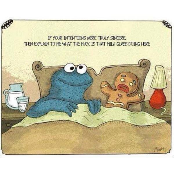 Naughty Cookie Monster Monster Cookies Funny Monster Quotes