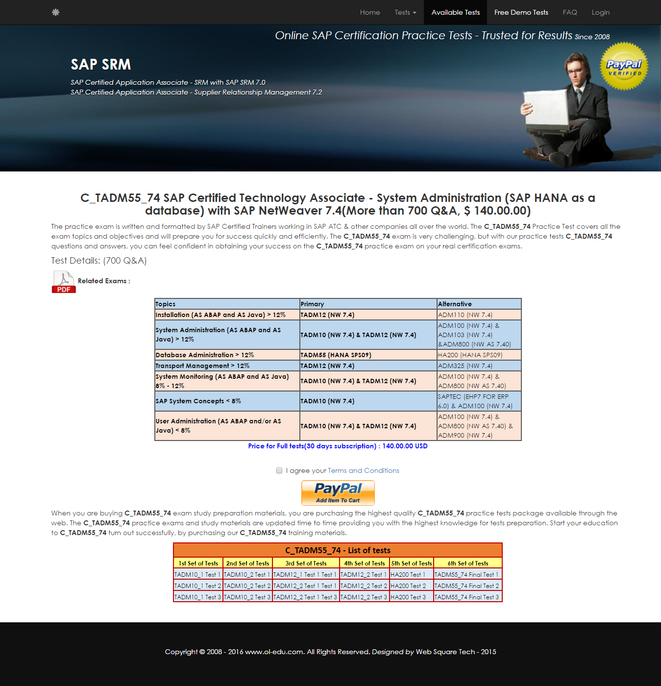 C tadm55 74 ctadm5574 sap certified technology associate c tadm55 74 ctadm5574 sap certified technology associate system administration sap xflitez Image collections