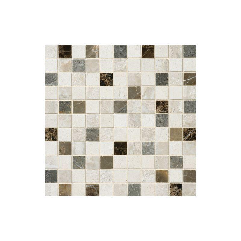 "Daltile DA89-11MS1L Marble Taro Blend 1"" x 1"" Polished Multi-Surface Mosaic Tile Taro Blend Tile Multi-Surface Tile"