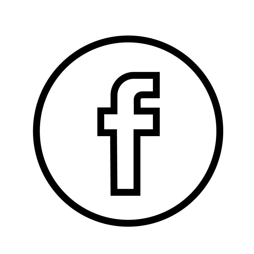Facebook Vector Logo Black Outline Facebook Logo Vector Facebook Icons Logo Facebook