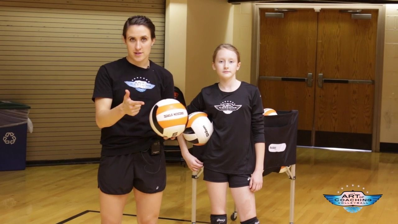 Jump Float Serve Fundamentals The Art Of Coaching Volleyball Coaching Volleyball Volleyball Tips Volleyball