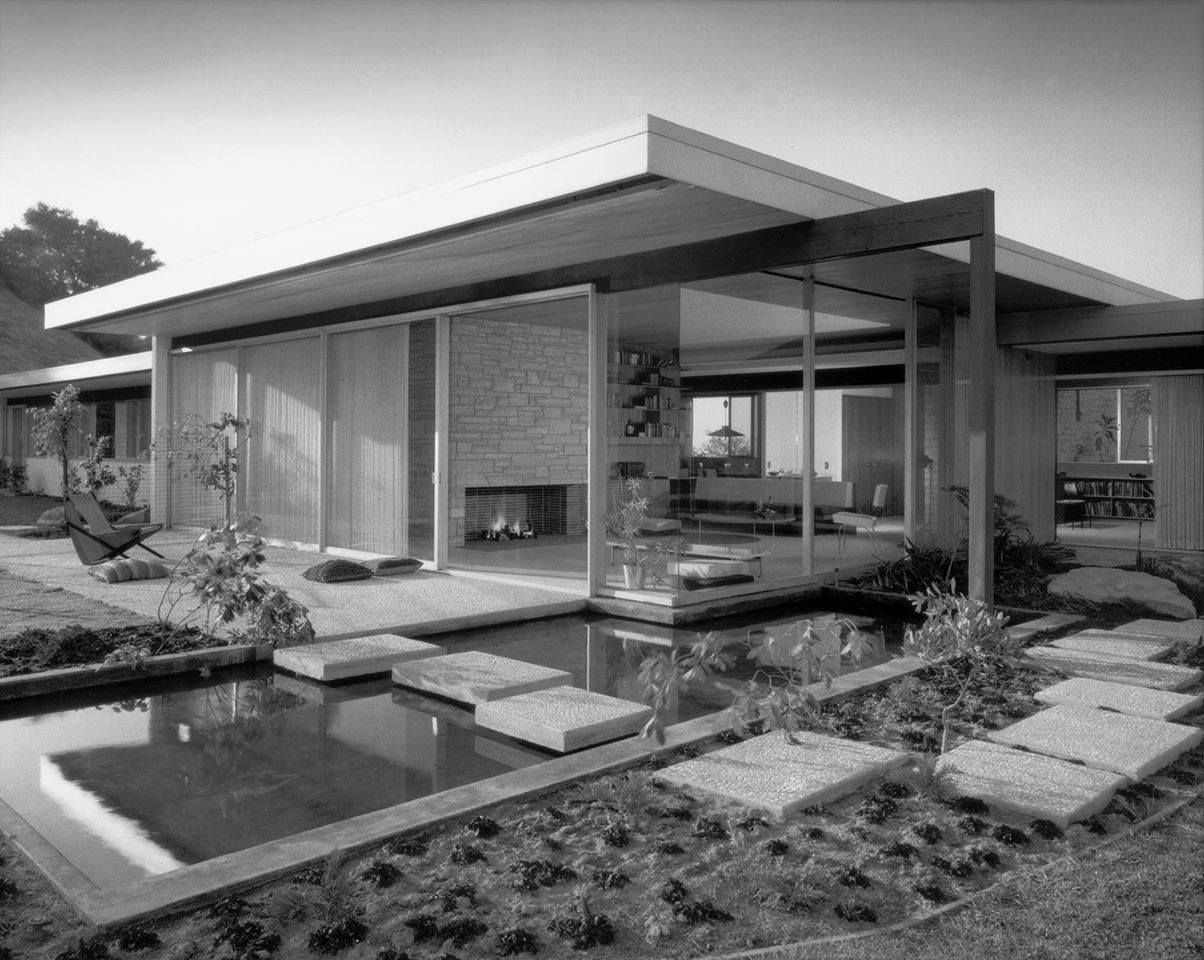 The Singleton House designed by architect Richard Neutra. Located in ...