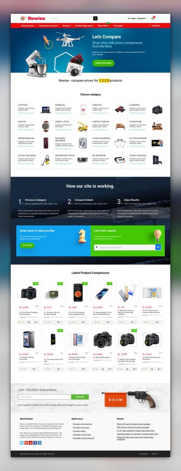 REHub - Price Comparison, Affiliate Marketing, Multi Vendor Store ...