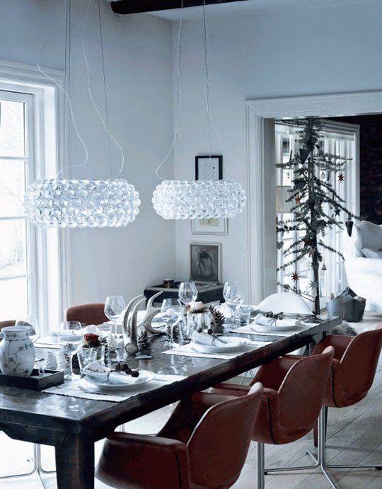 4 Simply Blissful Danish Homes at Christmas Idées pour noël, Noël