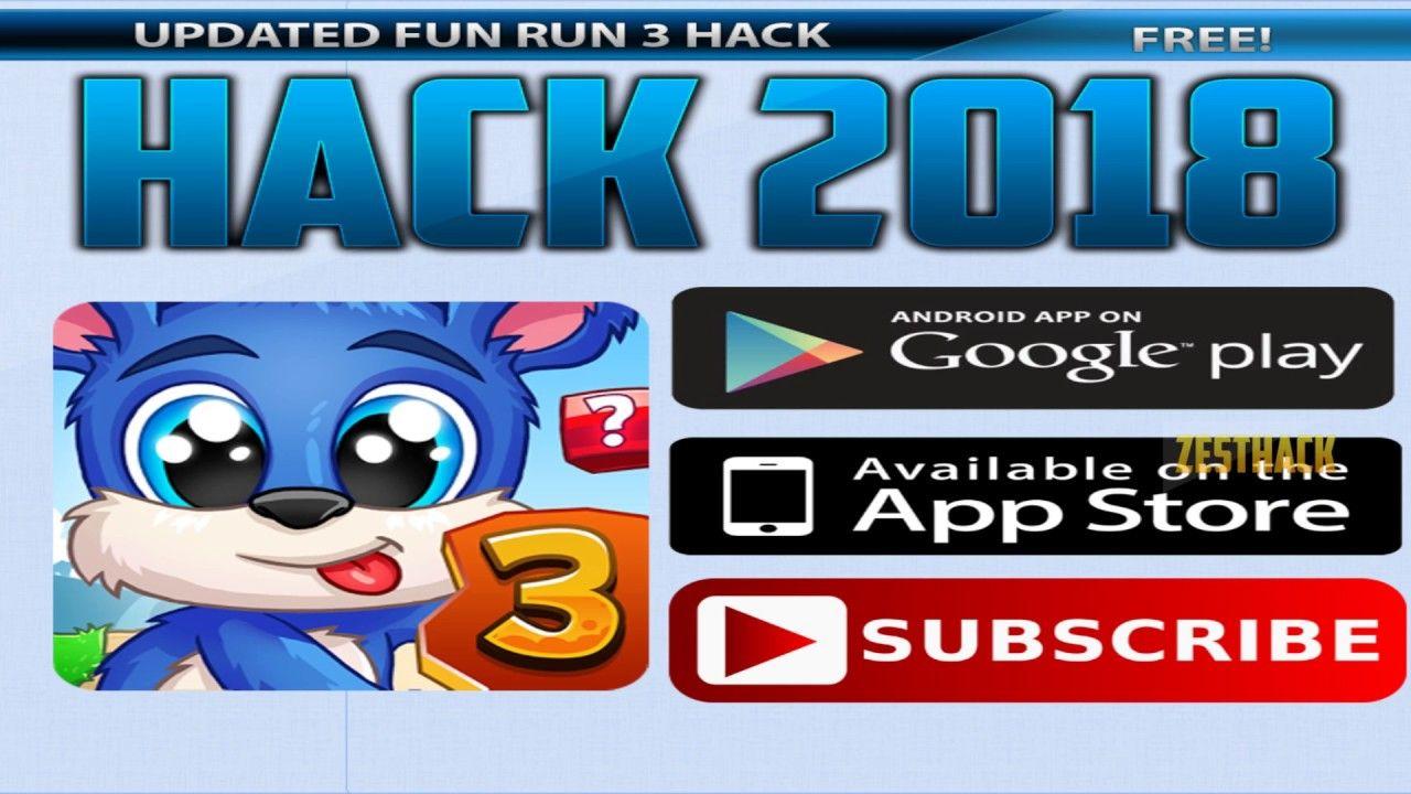 Fun Run 3 Hack Cheats Free Gems And Coins Generator Updated Ios Android 2018 Fun Run 3 Fun Run Free Gems