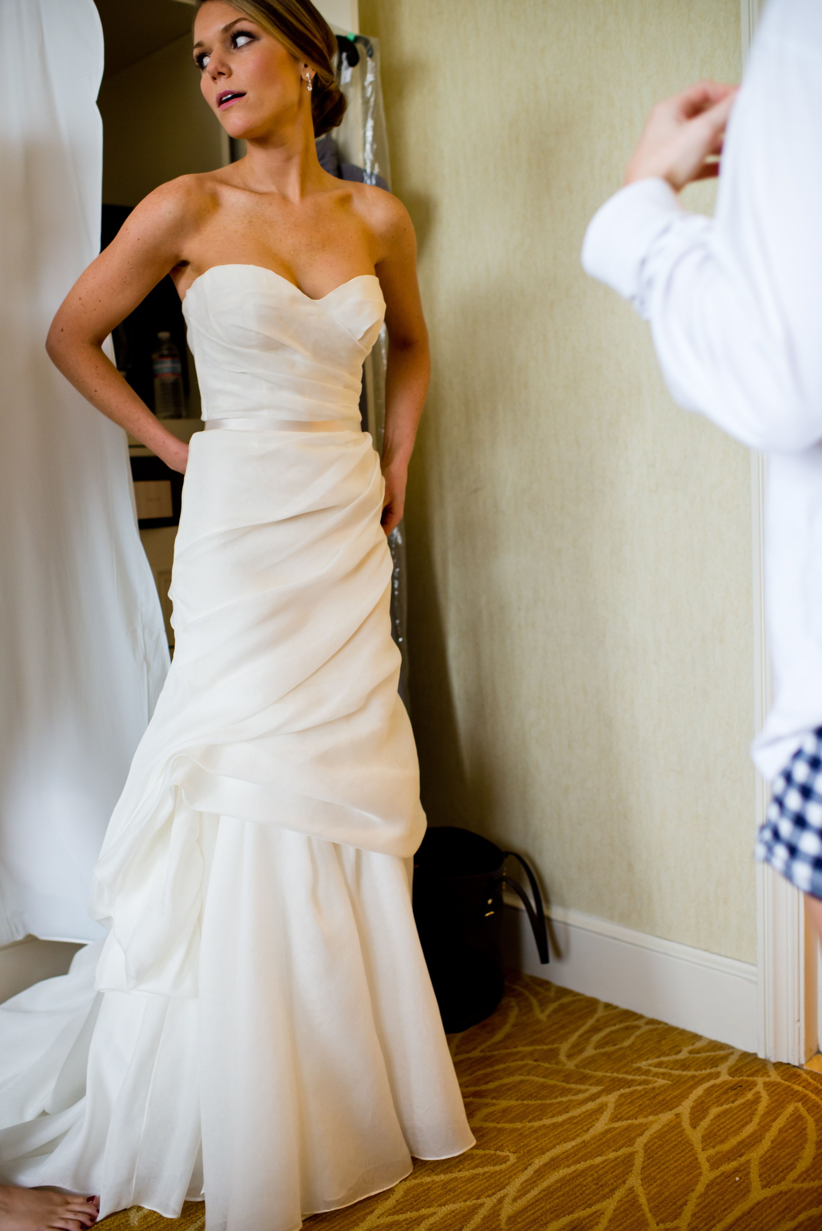 Monique Lhuillier Monique Lhuillier Peony Size 4 Size 2 Wedding...