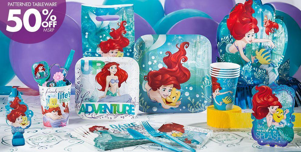 Little Mermaid Party Supplies | Kids Parties | Pinterest | Mermaid ...