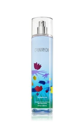 Country Chic Fine Fragrance Mist Signature Collection Bath