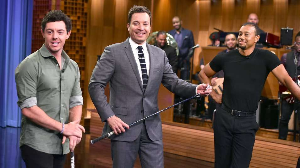 Even with Tiger's help, Fallon can't beat whitehot Rory