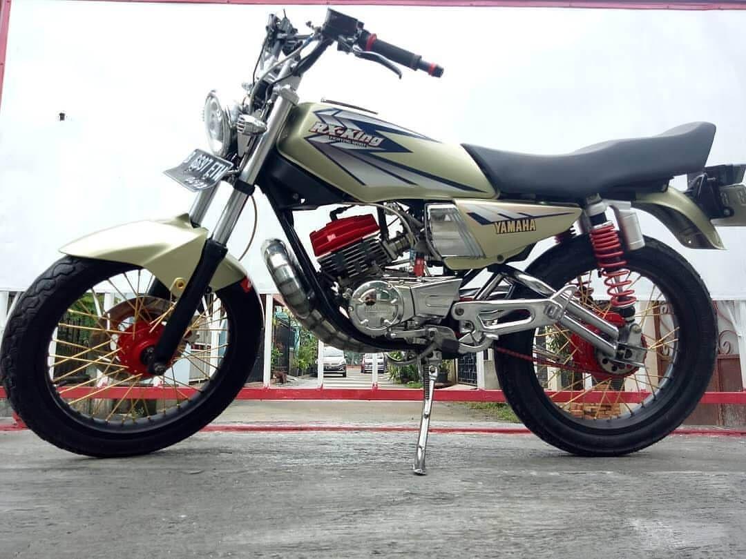 Modifikasi Motor Rx King Hijau Stabilo Motor, Kendaraan