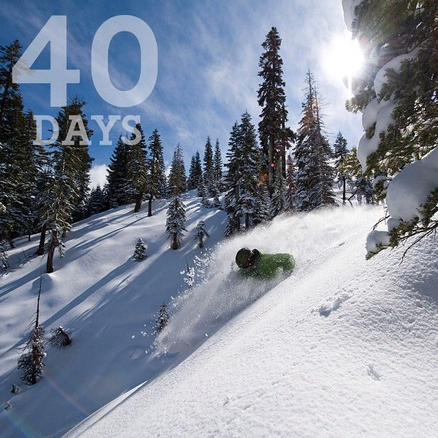 40 days until @squawvalley opens their runs! Are you ready for November 26?