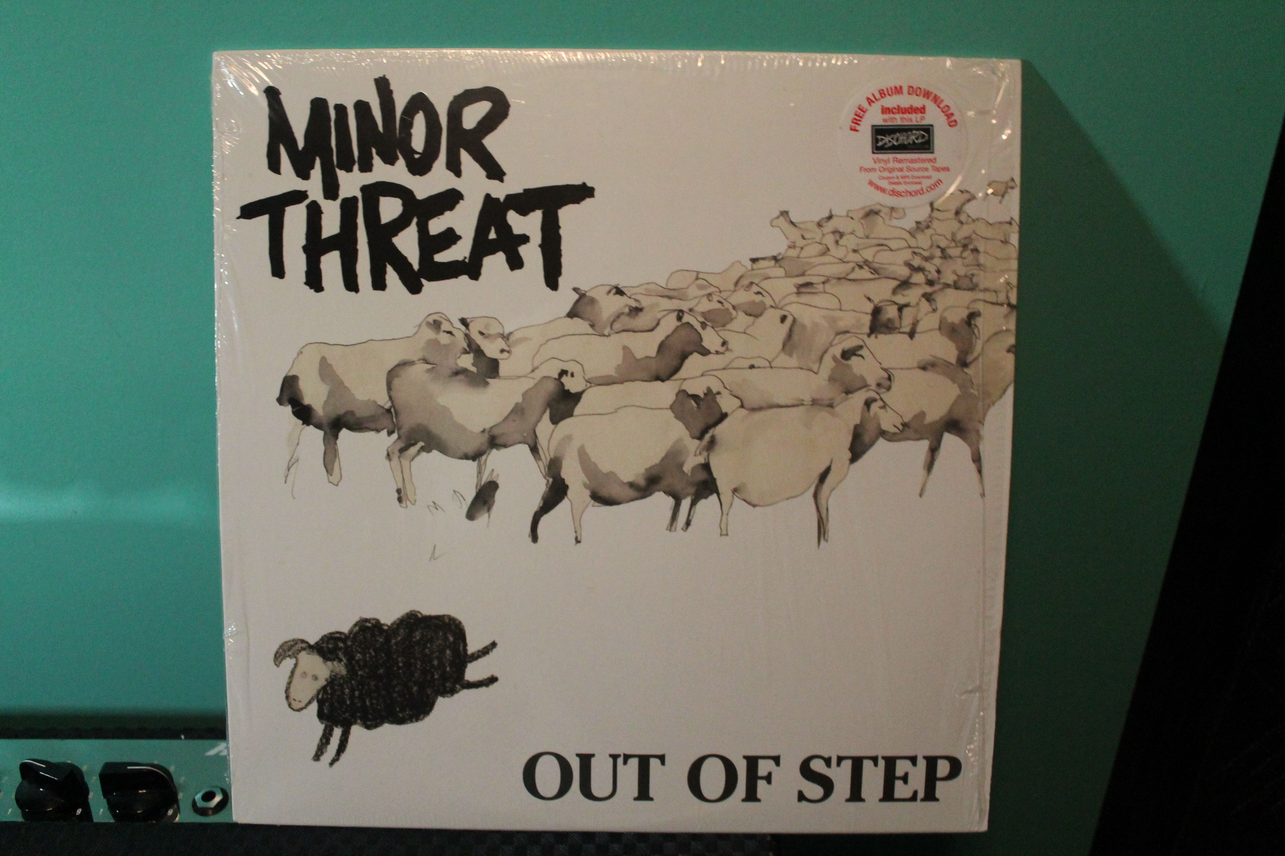 Out of Step, Essential Punk Minor threat, Step, Punk