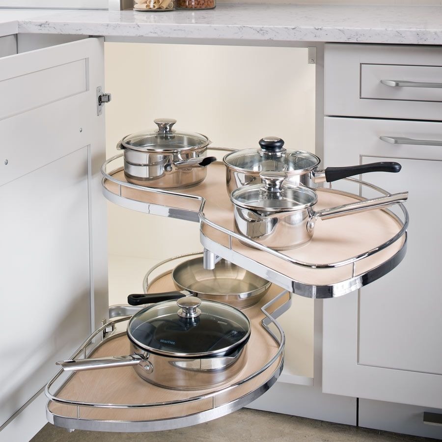 Kessebohmer Kitchen Accessories: Kessebohmer LeMans II Arena 60 Blind Corner Set RH
