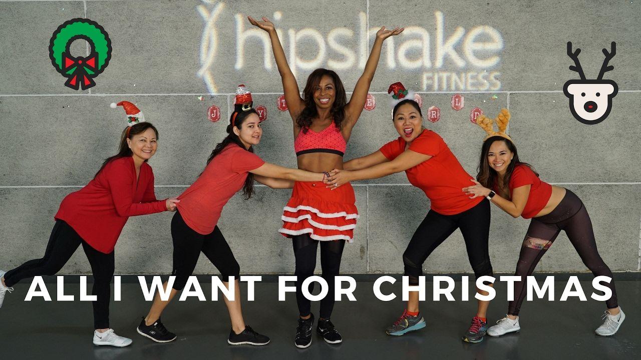 All I Want For Christmas Dance Workout Choreography Mariah Carey Flirty Hip Hop Youtube Dance Workout Dance Choreography