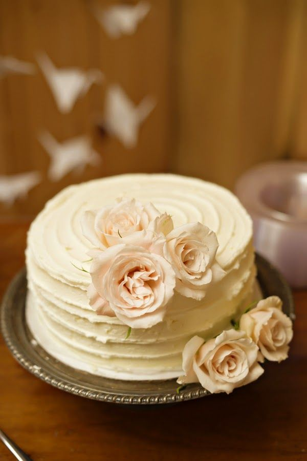 Top 16 Unique Single Tier Flower Wedding Cakes Cheap Holiday Party