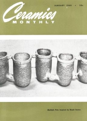 Ceramics Monthly January 1960 Ceramics Monthly Ceramics Monthly Ceramics Ceramic Art