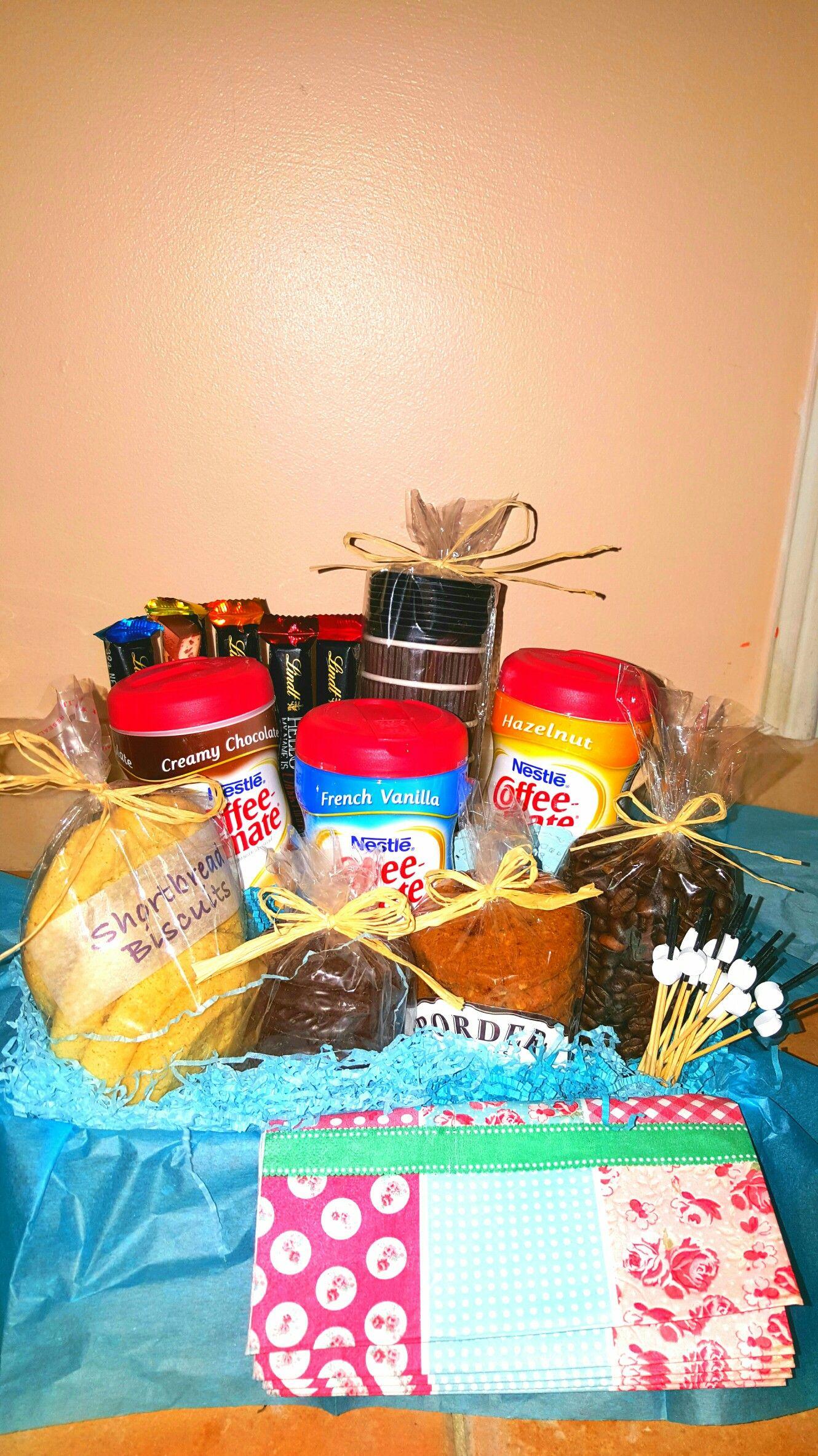 My DIY Coffee Gift Basket For A Friends Birthday